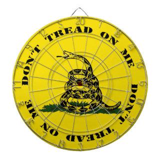 Don't Tread On Me Dart Board (Yellow)