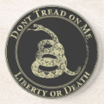 Don't Tread on Me Drink Coaster
