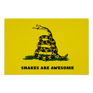 Don t tread on me flag parody posters