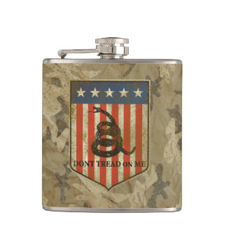 Don't Tread on Me Flask