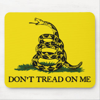 Don t Tread On Me-Gadsden Flag Mouse Pad