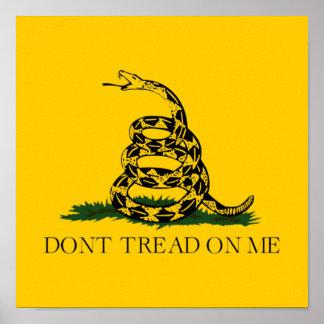Don t Tread on Me Gadsden Poster