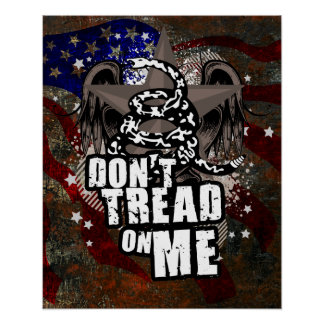Don t Tread On Me Liberty Poster