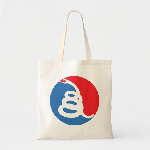 Don't tread on Me, Major League Canvas Bags