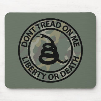 Don't Tread on Me Mouse Pad