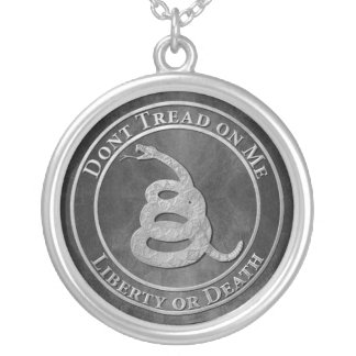 Don't Tread on Me Custom Necklace