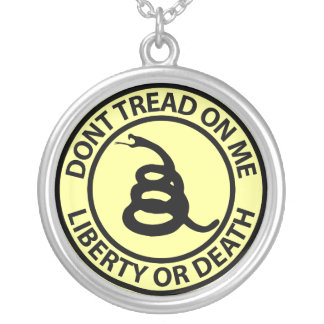 Don't Tread on Me Necklace