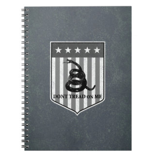 Don't Tread on Me Note Books