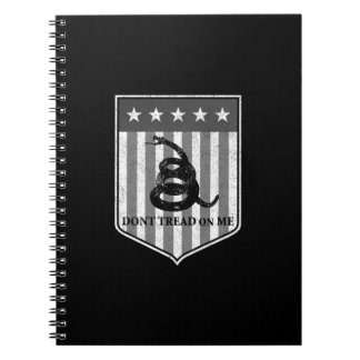 Don't Tread on Me Notebooks