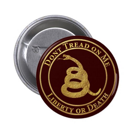 Don't Tread on Me Pinback Buttons