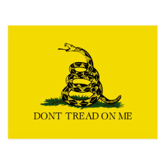 Don t Tread On Me Post Cards