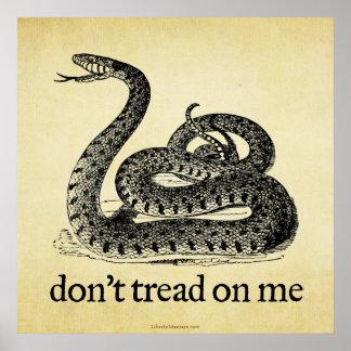 Don t Tread on Me Print
