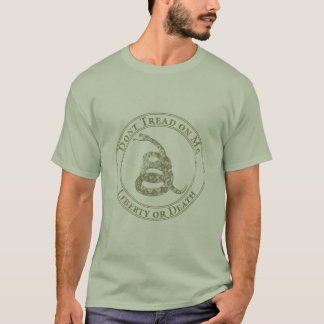 Don't Tread on Me Snake. T-Shirt