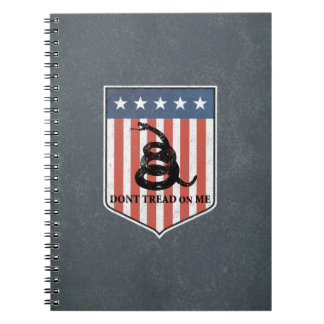 Don't Tread on Me Spiral Note Book