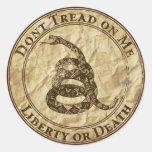 Don't Tread on Me Sticker