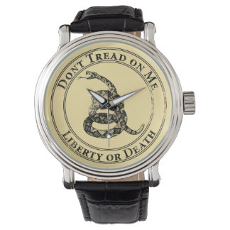 Don't Tread on Me Wristwatch