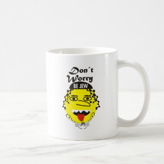 Don´t Worry be Jewish Coffee Mugs