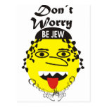 Don´t Worry be Jewish Postcards
