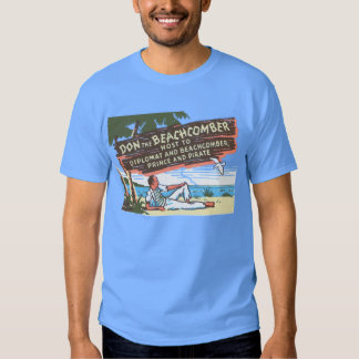 Don the Beachcomber  (Front and Back) T-Shirt