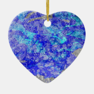 Don The Silk Blue Vangogh Ceramic Ornament