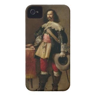 Don Tiburcio de Redin y Cruzat (oil on canvas) Case-Mate iPhone 4 Case