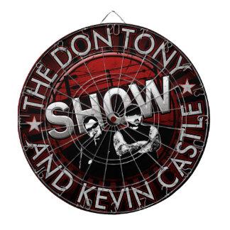 Don Tony And Kevin Castle Show Dartboard! Dartboards