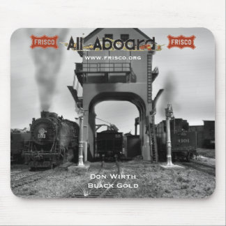 Don Wirth - Black Gold Mouse Pad