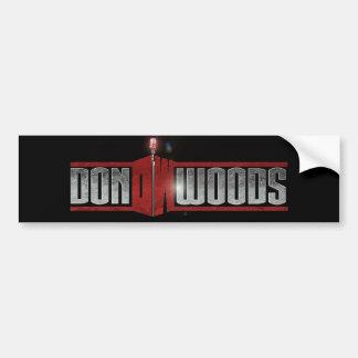 Don Woods Bumper Sticker