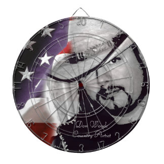 Don Woods Country Artist Dart Boards