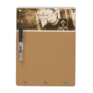 Don Woods Country Artist Dry Erase Board