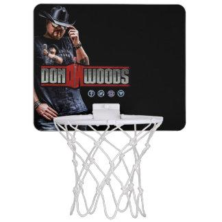 Don Woods Jr. Mini Basketball Backboard
