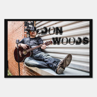 Don Woods Yard Sign