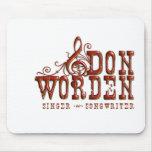 Don Worden Singer ~ Songwriter Mousepad