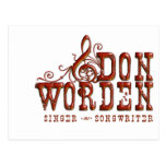 Don Worden Singer ~ Songwriter Postcards
