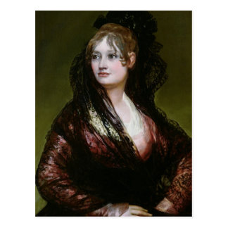 Dona Isabel de Porcel, exh. 1805 Postcard