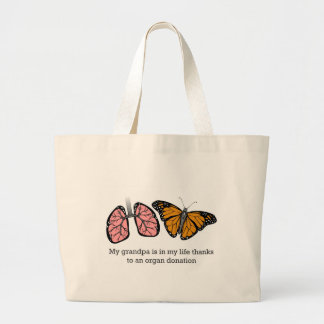 Donación de órganos bolsa de mano