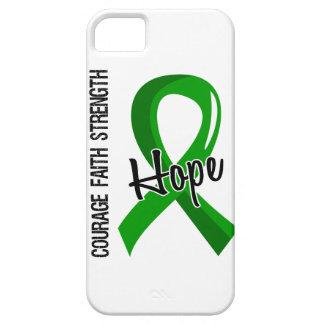 Donación de órganos de la esperanza 5 de la fe del iPhone 5 carcasa