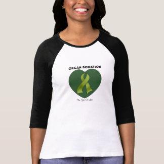 Donación de órganos: El regalo de la vida Playera