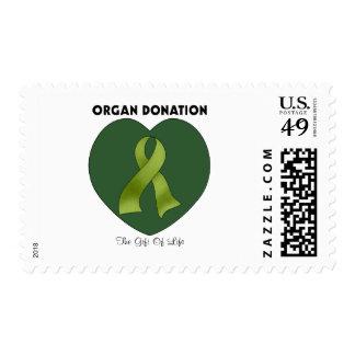 Donación de órganos: El regalo de la vida Sellos