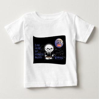 Donación muerta del vampiro de Ed - camisetas Playera