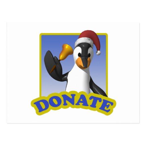 Donaciones del navidad postales