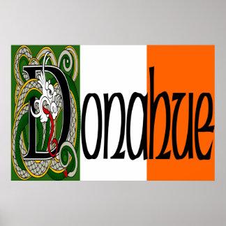 Donahue Celtic Dragon Print