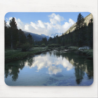 Donahue Pass from Lyell Fork - John Muir Trail Mouse Pad
