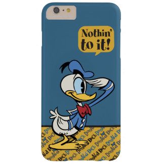 Donald Duck 3 Barely There iPhone 6 Plus Case
