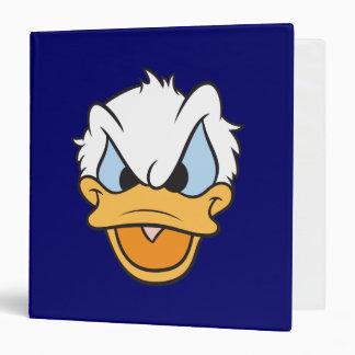 Donald Duck | Angry Face Closeup Binder
