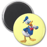 Donald Duck | Arm Up 2 Inch Round Magnet