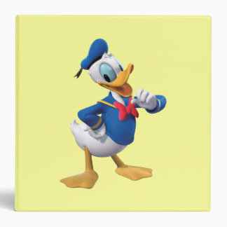 Donald Duck | Arm Up 3 Ring Binder