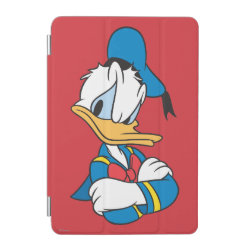 Classic Angry Donald Duck  iPad mini Cover