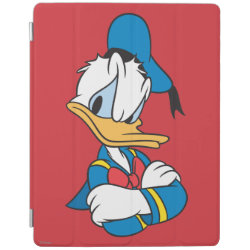 iPad 2/3/4 Cover with Classic Angry Donald Duck  design