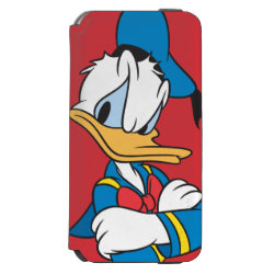 Incipio Watson™ iPhone 6 Wallet Case with Classic Angry Donald Duck  design